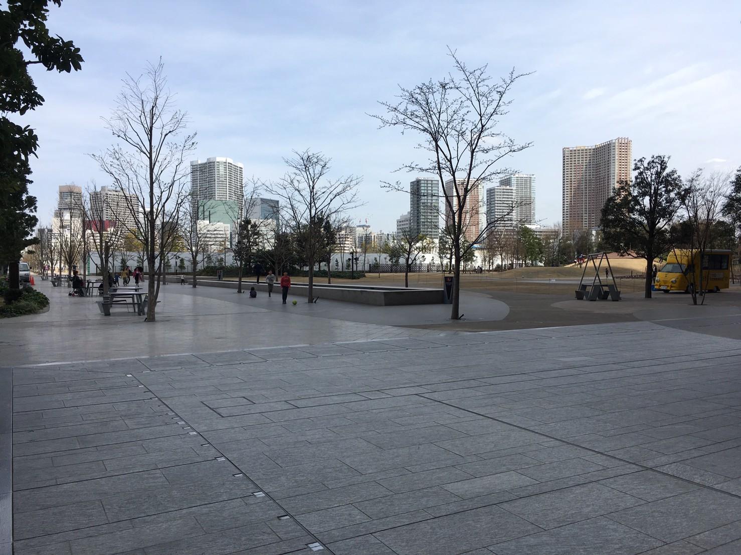 グッドモーニングカフェ 品川シーズンテラス店 広場